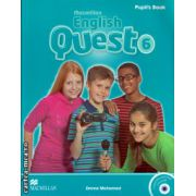 Macmillan English Quest Level 6 Pupil's Book Pack with Interactive activities CD-ROM ( editura: Macmillan, autor: Emma Mohamed, ISBN 978-0-230-45691-4 )