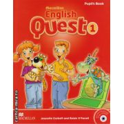 Macmillan English Quest Level 1 Pupil's Book with Animated stories and songs CD-ROM ( editura: Macmillan, autor: Jeanette Corbett, ISBN 978-0-230-44380-8 )