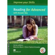 Improve your Skills for Advanced (CAE) Reading Student's Book with key & MPO Pack ( editura: Macmillan, autor: Malcolm Mann, ISBN 978-0-230-46200-7 )