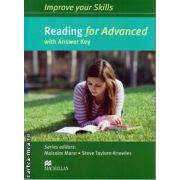 Improve your Skills for Advanced (CAE) Reading Student's Book with key ( editura: Macmillan, autor: Malcolm Mann, ISBN 978-0-230-46204-5 )