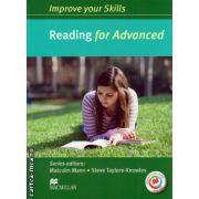 Improve your Skills for Advanced (CAE) Reading Student's Book without key, with MPO Pack ( editura: Macmillan, autor: Malcolm Mann, ISBN 9780230461987 )