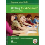 Improve your Skills for Advanced (CAE) Writing Student's Book with key & MPO Pack ( editura: Macmillan, autor: Malcolm Mann, ISBN 978-0230-46202-1 )