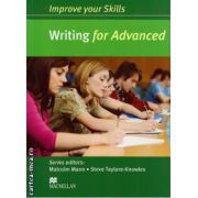 Improve your Skills for Advanced (CAE) Writing Student's Book without key ( editura: Macmillan, autor: Malcolm Mann, ISBN 9780230462083 )