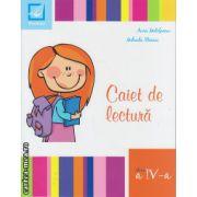 Caiet de lectura pentru clasa a IV - a ( editura : Booklet , autor : Aura Motofeanu , ISBN 9786065901636 )
