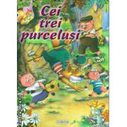 Cei trei purcelusi ( editura : Flamingo GD , ISBN 978-606-713-003-4 )