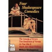 Four Shakespeare comedies ( editura : Macmillan , autor : William Shakespeare , ISBN 0-333-63447-0 )