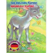 Das Eselchen Platero: Magarusul Platero - poveste bilingva romana - germana ( editura: Girasol, ISBN 978-606-525-470-1 )