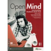 Open Mind Intermediate Student's Book Pack Standard ( editura: Macmillan, autor: Mickey Rogers, ISBN 978-0-230-45830-7 )