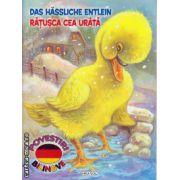 The ugly duckling: Ratusca cea urata - poveste bilingva romana - engleza ( editura: Girasol, ISBN 978-606-525-467-1 )
