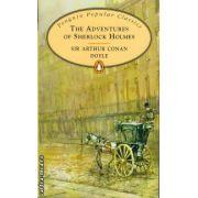 The Adventures of Sherlock Holmes ( editura: Penguin Books, autor: Sir Arthur Conan Doyle, ISBN 978-0-14-062335-2 )