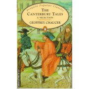 The Canterbury tales - a selection ( editura: Penguin Books, autor: Geoffrey Chaucer, ISBN 978-0-14-062374-1 )