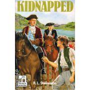 Kidnapped ( editura : Macmillan , autor : R.L. Stevenson , ISBN 0-333-03232-2 )