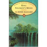 King Solomon's mines ( editura : Penguin Books , autor : H. Rider Haggard , ISBN 978-0-14-062420-5 )