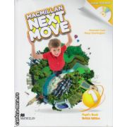 Macmillan Next Move Level 1 Pupil ' s Book with DVD ( editura: Macmillan, autor: Amanda Cant, ISBN 9780230466319 )