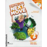 Macmillan Next Move Level 2 Pupil ' s Book with DVD ( editura: Macmillan, autor: Amanda Cant, ISBN 9780230466388 )
