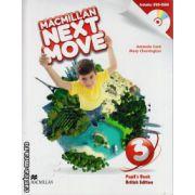 Macmillan Next Move Level 3 Pupil ' s Book with DVD ( editura: Macmillan, autor: Amanda Cant, ISBN 978-0-230-46645-6 )