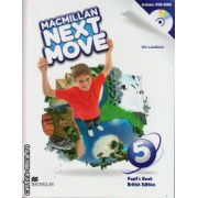 Macmillan Next Move Level 5 Pupil ' s Book with DVD ( editura: Macmillan, autor: Viv Lambert, ISBN 9780230466593 )