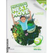 Macmillan Next Move Starter Level Pupil ' s Book with DVD ( editura: Macmillan, autor: Amanda Cant, ISBN 978-0-230-46624-1 )