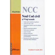 Noul Cod Civil si 9 legi uzuale ( editura : Hamangiu , ISBN 978-606-678-833-5 )