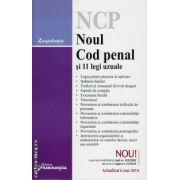 Noul Cod Penal si 11 legi uzuale ( editura : Hamangiu , ISBN 978-606-678-953-0 )