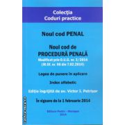 Noul cod Penal ( editura : Pedro-Morosan , ISBN 978-606-626-019-0 )