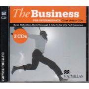 The Business pre-intermediate class audio CDs ( editura: Macmillan, autor: Karen Richardson, ISBN 978-0-230-02158-7 )