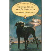 The Hound of the Baskervilles ( editura: Penguin Books, autor: Sir Arthur Conan Doyle, ISBN 978-0-14-062361-1 )