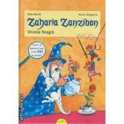 Zaharia Zanzibon vol I: Vinerea Neagra ( editura: Galaxia Copiilor, autor: Silke Moritz, ISBN 978-606-8578-03-3 )