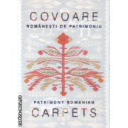 Covoare romanesti de patrimoniu / Patrimony Romanian carpets ( Editura : Alcor , Autor : Georgeta Stoica ISBN 978-973-8160-35-4 )