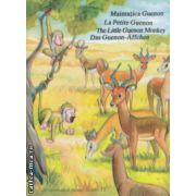 Maimutica Guenon / Le petite Guenon / The Little Guenon Monkey / Das Guenon - Affchen Carte de colorat si decupat ( Editura: Alcor, ISBN 978-98341-6-7 )