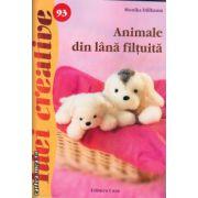 Animale din lana filtuita ( editura : Casa , autor : Monika Dillbaum , ISBN 978-606-8527-45-1 )