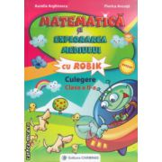 Matematica si explorarea mediului cu Robik culegere clasa a II a ( Editura : Carminis , Autor : Aurelia Arghirescu , Florica Ancuta , ISBN 9789731232140 )