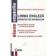 Limba engleza exercitii de vocabular ( Editura : Corint , Autor : Jaqueline Queniart , ISBN 978-973-135-579-5 )
