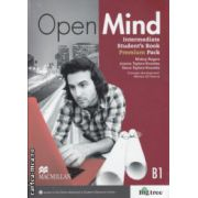 Open Mind Intermediate Student's Book Premium Pack B1 ( Editura: Macmillan, Autor: Mickey Rogers, Joanne Taylore-Knowles ISBN 978-0-230-45818-5)