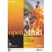Open Mind Student's Book Pack Level 2 ( Editura: Macmillan, Autor: Mickey Rogers, Joanne Taylor-Knowles ISBN 978-0-230-45939-7 )