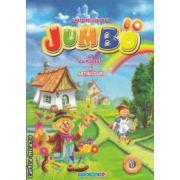 Jumbo Carte de colorat cu povesti si abtibilduri nr 1 ( Editura : Eurobookids ISBN 978-606-8373-23-2 )