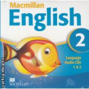 Macmillan English 2 Language Audio CDs ( Editura: Macmillan ISBN 978-1-4050-9618-8 )