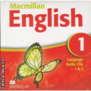Macmillan English 1 Language Audio CDs ( Editura: Macmillan, ISBN 978-1-4050-9617-1 )