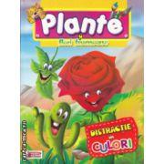 Plante si flori frumoase Distractie in culori carte de colorat ( Editura: Prichindel ISBN 978-606-93009-601 )