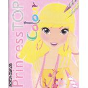 Princess Top Colour ( galbena ) ( Editura : Girasol  ISBN 978-606-525-546-3 )