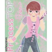 Princess Top Colour ( Verde ) ( Editura : Girasol ISBN 978-606-525-547-0 )