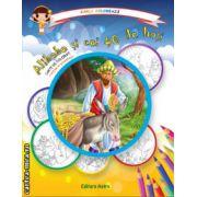Colectia Carla coloreaza : Alibaba si cei 40 de hoti - carte de colorat + poveste (editura : Astro , ISBN 978-606-8148-51-9 )