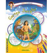 Colectia Carla coloreaza : Cartea Junglei - carte de colorat + poveste (editura : Astro , ISBN 978-606-8148-54-0 )