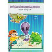 Invatam sa comunicam corect ! - exercitii , jocuri si teste clasa a IV ( editura : Nomina , autor :  Lililana Badea , Mariana Iancu , ISBN 978-606-535-632-0 )