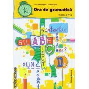 Ora gramatica clasa a V - a ( editura : Nomina , autor : Laura Maria Agapin , Emilia Boghiu , ISBN 978-606-535-650-4 )