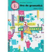 Ora de gramatica clasa a VII - a ( editura : Nomina , autor : Monica Halaszi , Luminita Sfara , ISBN 978-606-535-652-8 )
