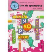 Ora de gramatica clasa a VIII - a ( editura : Nomina , autor : Maria-Emilia Goian , Cristina Buturca , ISBN 978-606-535-649-8 )