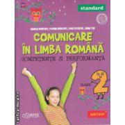 Comunicare in limba romana competente si performanta clasa a 2 a Standard ( Editura: Paralela 45, Autor: Daniela Berechet, Florian Berechet, Lidia Costache ISBN 9789734718986 )