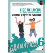 Fise de lucru pe lectii si unitati de invatare cu itemi si teste de evaluare gramatica clasa a 6 a ( Editura : Paralela 45 , Autor : Cornelia Chirita , Eliza-Mara Trofin ISBN 9789734719327 )