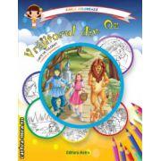 Colectia Carla coloreaza : Vrajitorul din Oz - carte de colorat + poveste (editura : Astro , ISBN 978-606-8148-62-5 )